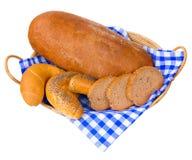 Хлеб и плюшки Стоковое Фото