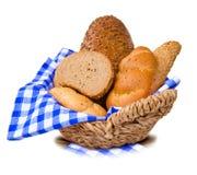 Хлеб и плюшки стоковое изображение