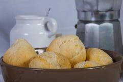 Хлеб и сыр кассавы Стоковое фото RF
