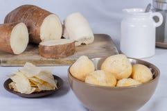 Хлеб кассавы Стоковое фото RF