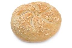 Хлеб крена для изолированного завтрака Стоковые Фото