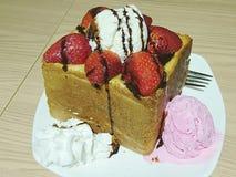 Хлеб клубники шоколада Стоковая Фотография RF