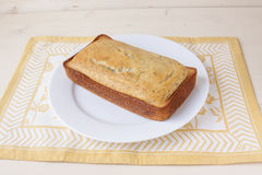 Хлеб макового семенени лимона Стоковые Изображения