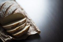 Хлеб на таблице Стоковое Изображение