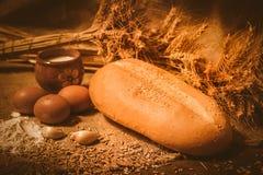 Хлеб на sacking стоковые изображения