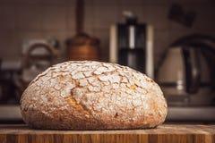 хлеб доски деревянный Стоковые Изображения RF