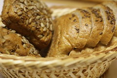 хлеб печатает различное на машинке Стоковые Фото