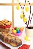 Хлеб помадки пасхи Стоковые Фото