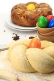 Хлеб помадки пасхи Стоковое фото RF