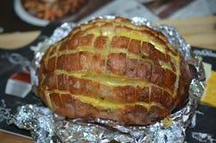Хлеб притворной тяги отделенный Стоковые Изображения