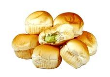 Хлеб плюшки Стоковое Изображение