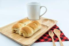 Хлеб сосиски Стоковые Изображения RF