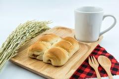 Хлеб сосиски Стоковая Фотография
