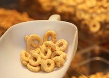 Хлеб душистого taralli бейгл итальянский для продажи Стоковое Фото