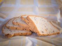 Хлеб хлопьев в утре Стоковые Изображения