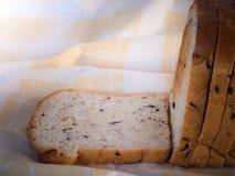 Хлеб хлопьев в утре Стоковое фото RF