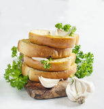 Хлеб чеснока Стоковое Изображение