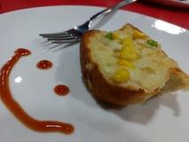 Хлеб чеснока Стоковая Фотография