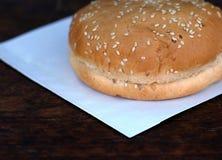 Хлеб для бургера или сандвича Стоковые Фотографии RF