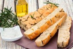 Хлеб Focaccia Стоковая Фотография