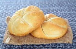 Хлеб 2 kaiser Стоковое Фото