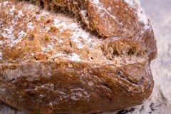 Хлеб Rye на деревянной предпосылке Стоковая Фотография
