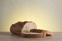 Хлеб Rye на деревянной таблице Стоковое Изображение