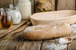 Хлеб Sourdough с пивом Стоковые Изображения