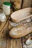 Хлеб Sourdough с пивом Стоковое фото RF