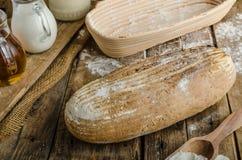 Хлеб Sourdough с пивом Стоковые Фото