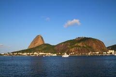 Хлеец сахара - Рио-де-Жанейро Стоковая Фотография