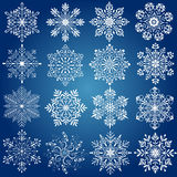 Хлопь снега Стоковые Фото