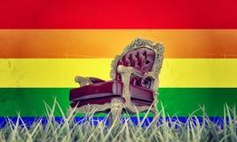 Царственное кресло Стоковая Фотография