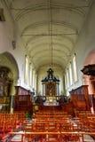Царственное Beguinage 10 Wijngaerde Брюгге Бельгия Стоковое Изображение RF