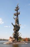 Царь Питер большой памятник Стоковое Изображение