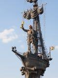 Царь Питер большой памятник Стоковые Фото