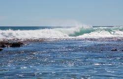 Цаца океана: Свищи в металле, западная Австралия Стоковые Изображения RF