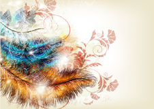 Цветастая абстрактная предпосылка иллюстрация штока