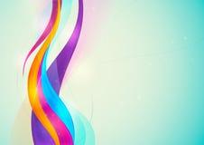 Цветастая абстрактная предпосылка  Стоковые Изображения RF