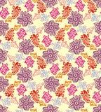 цветастая безшовная текстура Стоковое Фото