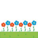 цветастая белизна сада Стоковая Фотография RF