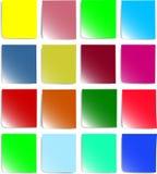цветастая бумага примечаний Стоковое Фото
