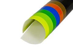 цветастая бумага стоковые изображения