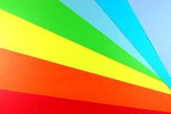 цветастая бумажная радуга Стоковое Изображение