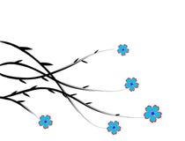 цветастая весна цветков Бесплатная Иллюстрация