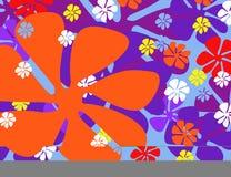 цветастая весна цветков Иллюстрация вектора