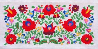 цветастая вышивка Стоковые Фото