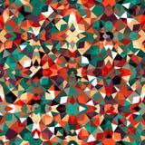цветастая геометрическая картина Стоковая Фотография RF
