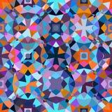цветастая геометрическая картина Стоковые Фотографии RF