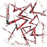 цветастая геометрическая картина Стоковое Изображение